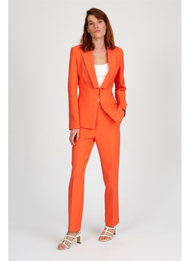 Setre Elbise Oranj